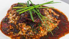 Duck Scaloppine with warm bacon lentils |  Mario Batali