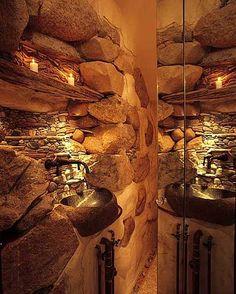 pinterest ideas   50 Wonderful Stone Bathroom Designs   DigsDigs