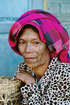 Asia - Myanmar / Burma - Chinwoman | Flickr - Photo Sharing!