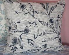 Quoll cushion cover rectangular cushion cover sleeping quoll | Etsy Cute Australian Animals, Kangaroo Paw, Printed Cushions, Natural Linen, Screen Printing, Throw Pillows, Cover, Prints, Handmade