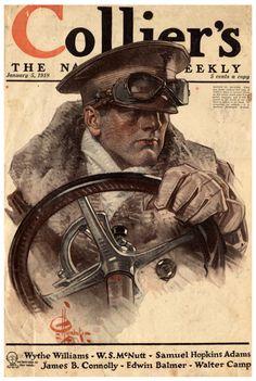 J.C Leyendecker / Collier's 5 Jan 1918
