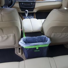 Hanging Recycle Kit is Universal Free Waste Basket Liners Waterproof Organizer Makes a Great Drink Cooler /& Road Trip Gift The Drive Bin Car Garbage Can Pink Best Auto Trash Bag for Litter