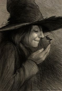 ✯ Witchy Sweetness :: Artist Unknown✯