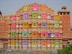 Magnificent Tourist Places In Jaipur: Revisit The Colors & Grandeur Of The Pink City Hawa Mahal Jaipur India Hawa Mahal Jaipur India Tourist Places, Places To Travel, Travel Destinations, Places To Visit, India Palace, Jaipur India, Delhi India, Travel Photographie, Ville Rose