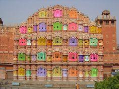 Hawa Mahal Jaipur India    #ridecolorfully