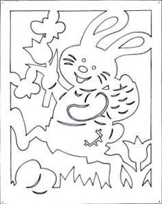 3-4 Kirigami Patterns, Wood Carving Patterns, Stencil Patterns, Stencils, Diy And Crafts, Crafts For Kids, Wood Burning Art, Egg Decorating, Pop Up Cards