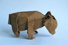 Origami bear by John Szinger