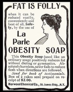 Obesity Soap - gotta get some of this