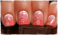 A Girl and Her Polish: Sunday Stamping and Breast Cancer Awareness