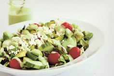 Keep this cool, crisp salad vegetarian, or add chicken for more protein | Metro News