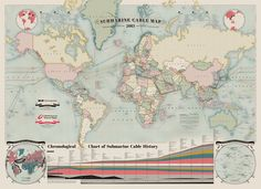 Did you know? | The 550,000 Miles Of Undersea Cabling That Powers The Internet |