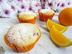 Рецепт апельсиновых маффинов