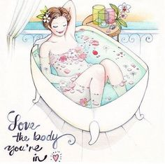 Love the body you're in! #selflove #inspiration via @peace_love_light