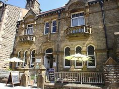 Green's Vegetarian Cafe in Hebden Bridge recommended by India Taylor. Green Vegetarian, Hebden Bridge, Tofu Salad, Vegan Cafe, Places To Eat, Vegan Recipes, India, Mansions, House Styles