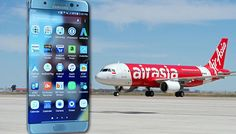 chennaiungalkaiyil AirAsia announced its ban for Samsung Galaxy Note7 mobile phones on all its flights from October 17 in regard of safety purposes. #latestupdates from www.chennaiungalkaiyil.com. Latest updates of Chennai Latest news about chennai