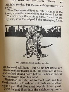 Next Day, The Next, Vintage Book Art, Ali Baba, Two By Two