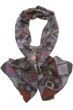 """Sophie Digard crochet scarf - """"Diamont"""" pattern"""