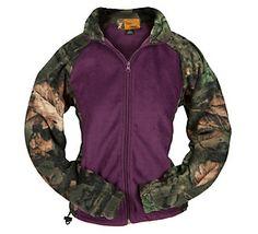 $24 - L Trail Crest Women's Camo Fleece Jacket | Scheels. Follow Savage Sisters! www.facebook.com/savagesisters