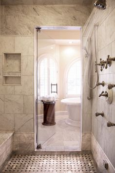 Master Bathroom - traditional - Bathroom - Atlanta - Elizabeth Anne Star Interiors