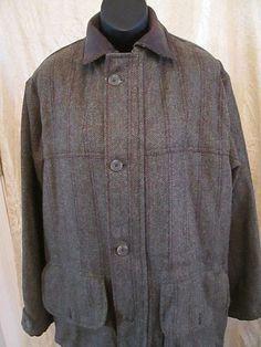 2abe4931004 See more. Mens Lewis Creek American Country Wear Field Coat Wool Euc  Scotland Size Medium