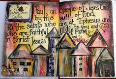 Bible Verse; Art Journal; Scripture memorization; how to memorize Scripture