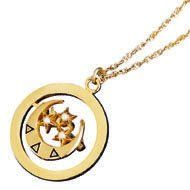 DDD Pin Pendant, $130, Herff Jones. This is such a great idea for wearing your pin all the time!