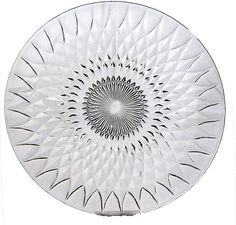 Cut Glass Serving Tray by BreadnButterAntiques on Etsy