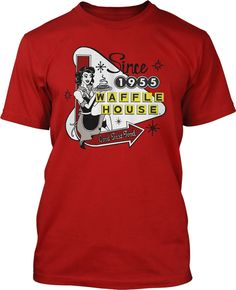 A look at the first ever waffle house now the world 39 s for T shirt printing norcross ga
