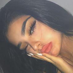Image about girl in Make-up/ Beauty by Kaya on We Heart It Makeup Goals, Beauty Makeup, Eye Makeup, Hair Beauty, Fair Skin Makeup, Makeup Eyebrows, Makeup Style, Pretty Face, Makeup Inspiration