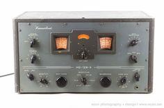 VINTAGE HAMMARLUND HQ-129-X TUBE HAM RADIO RECEIVER #HAMMARLUND