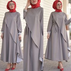 Translated version of test.txtDo you want to add elegance to your style Skirt size 135 cm Size 1 and 2 size 1 . Street Hijab Fashion, Abaya Fashion, Skirt Fashion, Fashion Dresses, Islamic Fashion, Muslim Fashion, Modest Fashion, Hijab Evening Dress, Hijab Dress Party