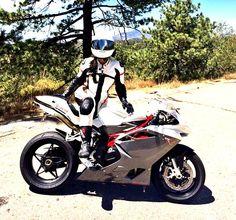 Girl & Motorcycle