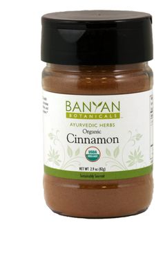 Cinnamon, org (2.90 oz Spice Jar) $5.95