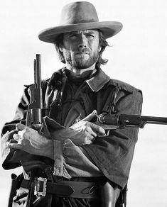 Clint Eastwood | From a unique collection of black and white photography at https://www.1stdibs.com/art/photography/black-white-photography/