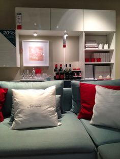 Isabel Pires de Lima for IKEA Portugal  Blue, White and Red