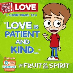 What is love? It can mean many things! Help your kids learn what the Bible says about love in today's JellyTelly 5 Minute Family Devotional featuring Micah's Super Vlog.