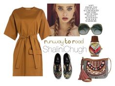 """""""boho on runway"""" by shalinisemail on Polyvore featuring Vans, Olivia Pratt, American Rag Cie, Folio, MSGM and Christian Dior"""