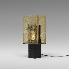 From Wright, Serge Mouille, Dallux table lamp Notched polyester resin, enameled steel, 14 × 6 × 5 in L And Light, Light And Shadow, Luxury Lighting, Modern Lighting, Chandeliers, Serge Mouille, Luxury Table Lamps, Light Table, Home Interior