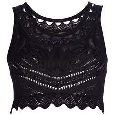 ROBERTO CAVALLI cropped vest ($595) ❤ liked on Polyvore
