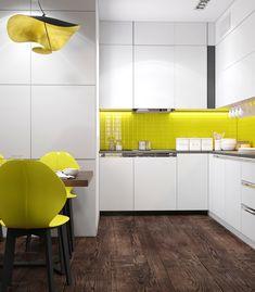 "Apartament 3 camere - Complex ""Nordis"" București - Creativ-Interior Design Case, Minimalism, Kitchen Cabinets, Modern, Table, Furniture, Home Decor, Trendy Tree, Decoration Home"