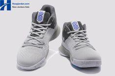 ec40569b8095 Nike Kyrie 3  Wolf Grey  PE Men s Basketball Shoes