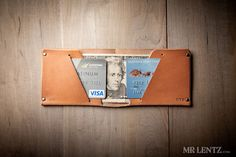 Thin Leather Wallet, Leather Wallet, Minimal Wallet, Mens wallet 012