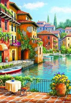 Fantasy Landscape, Landscape Art, Landscape Paintings, Amazing Paintings, Easy Paintings, Sans Art, African Art Paintings, Watercolor Art Landscape, Symbolic Art