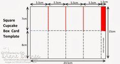 Stampin Up Create a Cupcake pop up card in a box  template by Di Barnes(3-24-14)