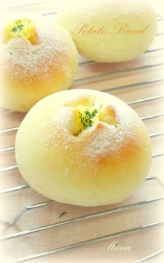 ✿じゃがいもパン✿ [Potato Bread]
