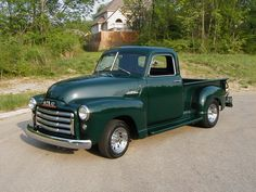 antique gmc trucks | Clyde Treser's 1953 GMC 101-22 Pickup