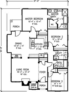 Not so big house home plans