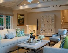 Transitional Living Room by EJ Interior Design, Eugenia Jesberg