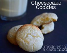Cheesecake Cookies, gluten free