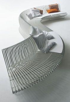 Bonacina Pierantonio |  Outdoor Modular Sofa #Modern #OutdoorLiving